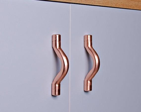 Copper Curve Handle