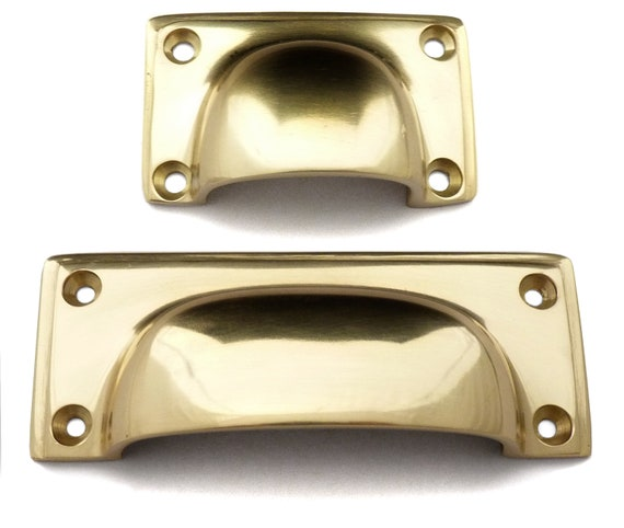 Amersham Solid Brass Classic Cup Handle