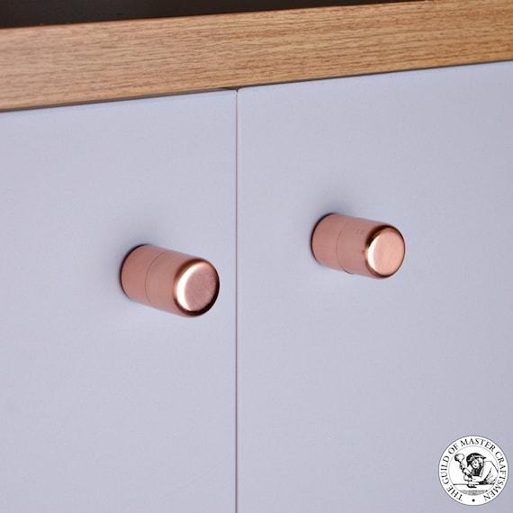 Copper Button Knobs (Small)