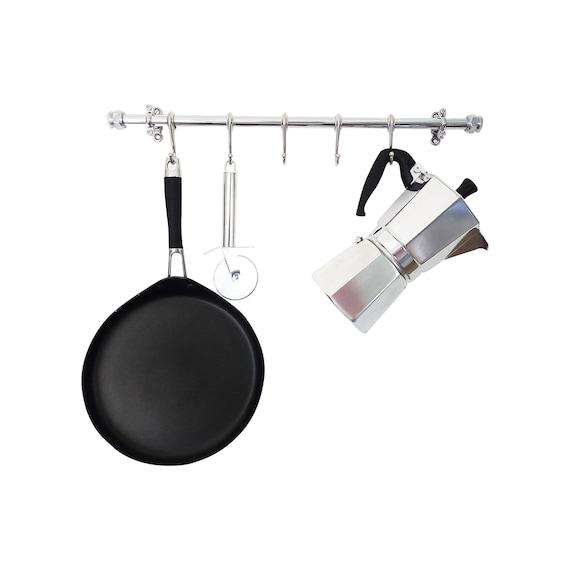 Küche Utensil Schiene Topf und Pfanne Schiene Gewerbliche | Etsy