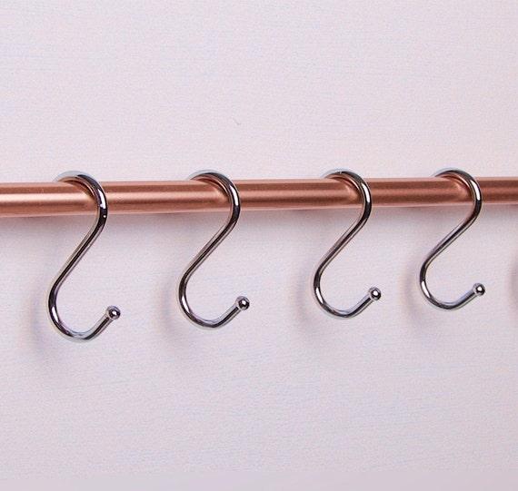 Chrome Kitchen Utensil Hooks | S Hooks