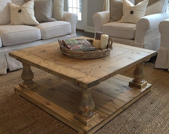 Large Coffee Table Etsy