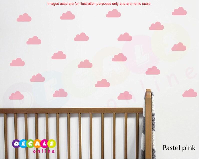 Mini nuages Stickers muraux, stickers muraux nuages, Stickers chambre  d'enfant nuages, décoration chambre bébé, art mural nuage, stickers nuage,  ...