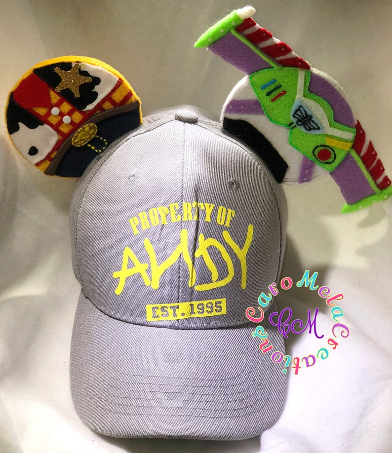 HAT Woody And Buzz Lightyear Inspired Mouse Ears Toy Story  8a6219ca56fc