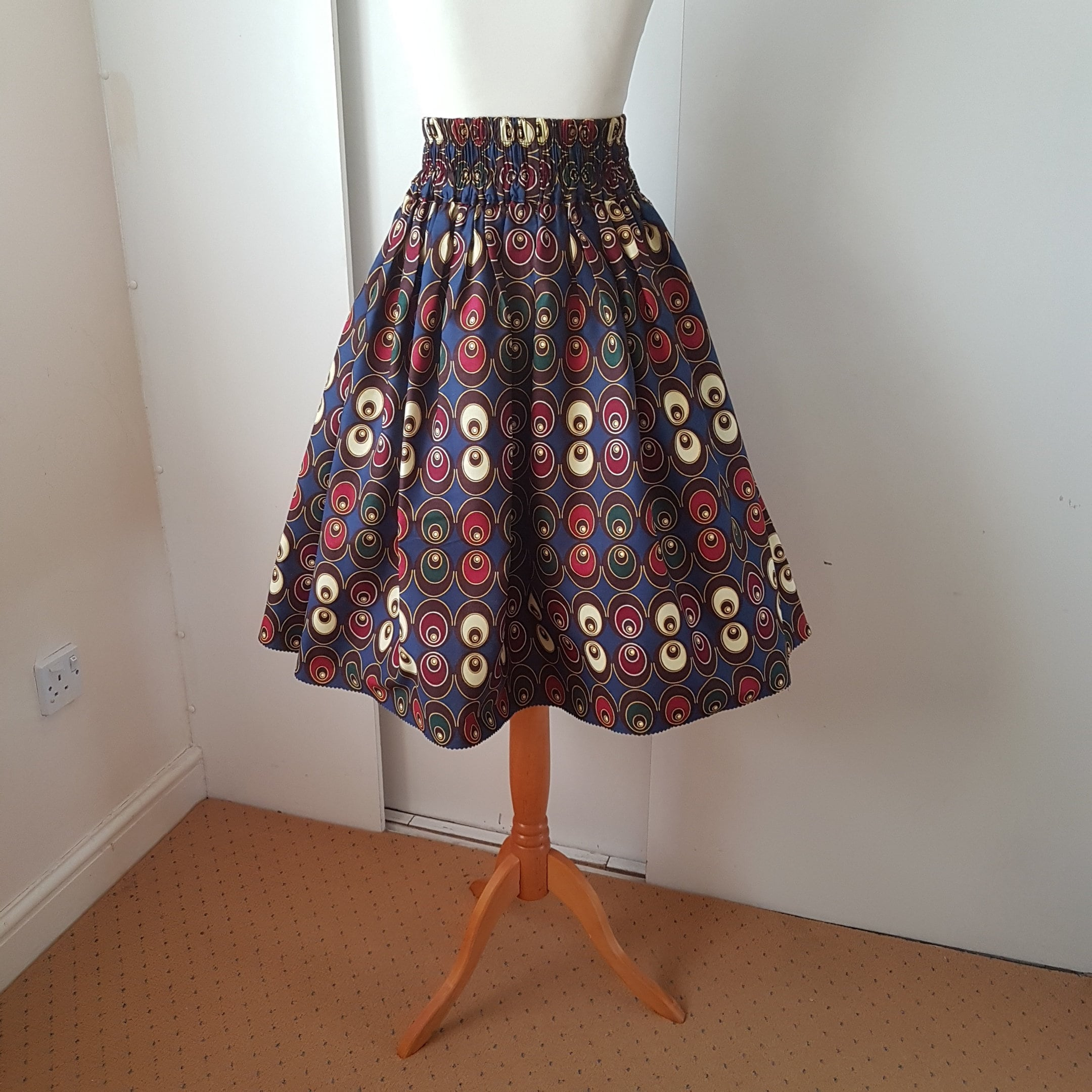 33a008f721ad26 High Waist African Print Skirts Images | Saddha
