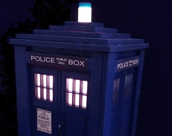 TARDIS Accent Lamp/Night Light