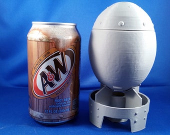 "Mini Nuke ""Fallout"" Atomic Bomb Storage Container"