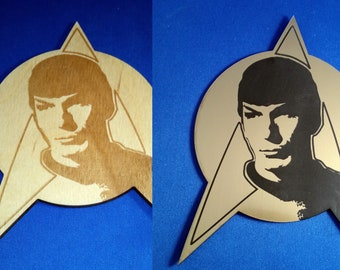 Star Trek Spock Coaster/Plaque