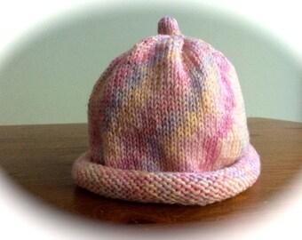 Girls Merino Wool Hat
