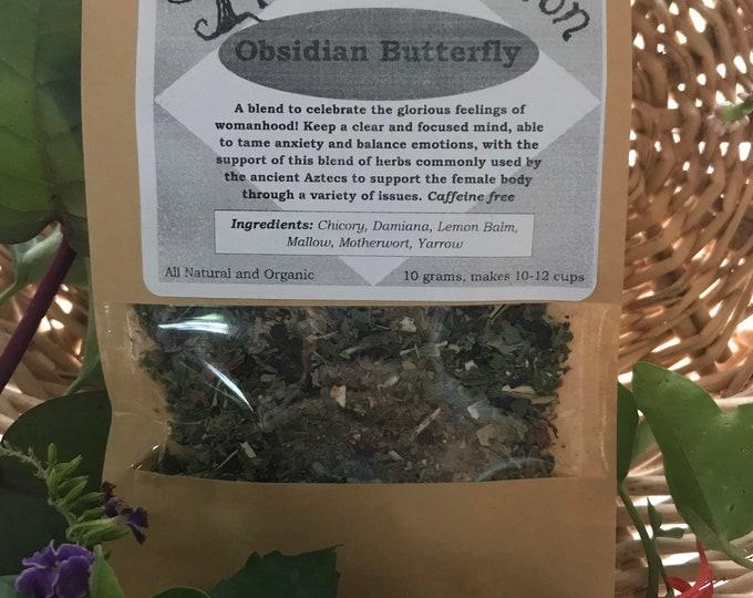 Obsidian Butterfly Tea