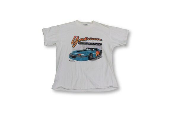 Vintage Distressed NASCAR T Shirt
