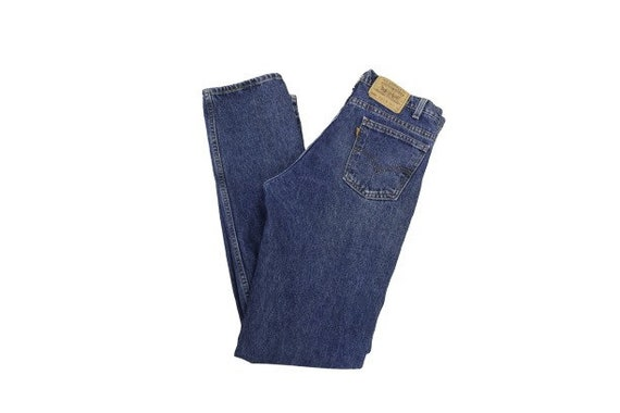 Vintage Levi's 505 orange Tab Jeans