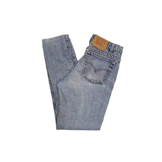 Vintage Distressed  Levis 512 Straight Leg Jeans