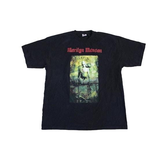 Vintage Marilyn Manson Death T Shirt
