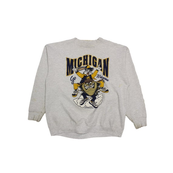 Vintage Michigan State  Looney Tunes Crewneck