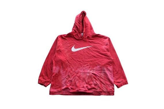 Vintage Nike Flames Hoodie