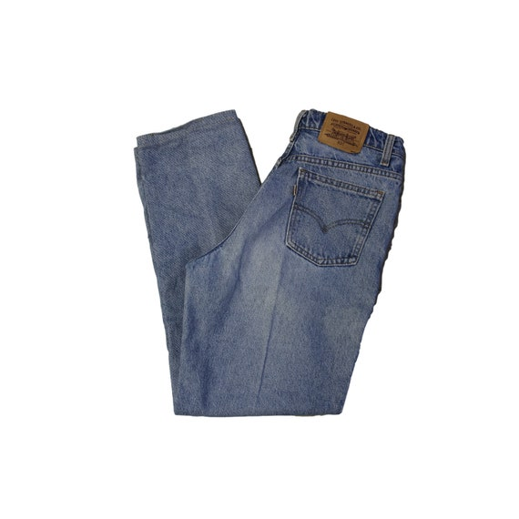 Vintage Levis High Waisted Straight Leg Jeans