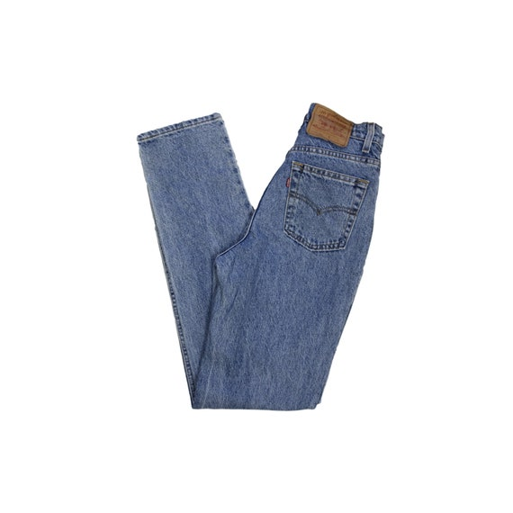 Vintage Levis High Waisted Straight Leg Jeans