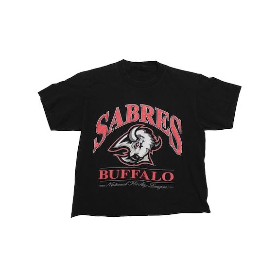 Vintage Sabres Buffalo Hockey T Shirt