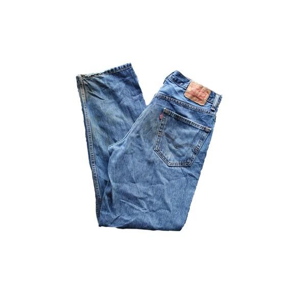 Vintage Levis 550 Straight Leg Jeans