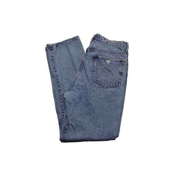 Vintage Guess High Waisted Straight Leg Jeans