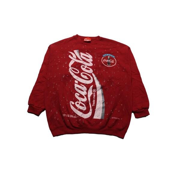Vintage 1994 Coca Cola All Over Print Crewneck
