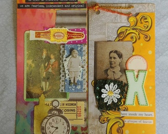 Set of 2 Altered Tags