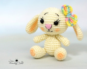 Easter gift etsy plush bunny rabbit girlfriend gift for girl easter negle Image collections