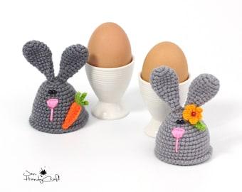 Easter bunny Egg cozy Spring table decor Easter gift Kitchen decor Egg warmers Easter decorations Easter egg hat  Egg cosy Easter egg cover