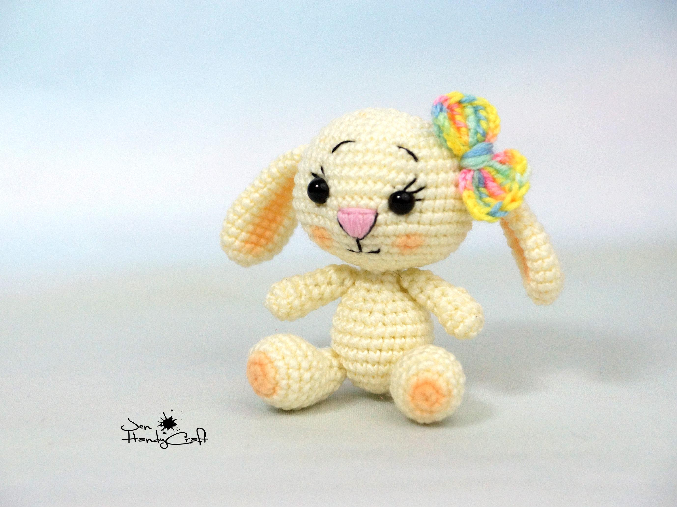 Plüsch Hase Kaninchen Freundin Geschenk für Mädchen Ostern | Etsy