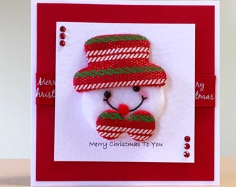 Ideas For Christmas Cards Handmade.Christmas Card Handmade Cute Christmas Card For Men Women