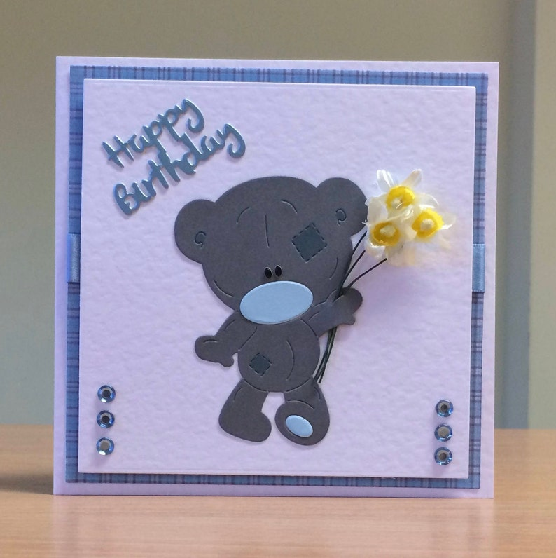 Birthday Card Cute Teddybear Birthday Card For Children