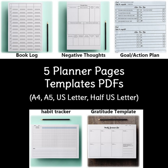 picture relating to Yearly Planner Template named 2019 Contemporary Yr Planner Templates, Electronic Magazine, Person Planner Include, Printable Absolutely sure Planner, Self Growth, Phase Method