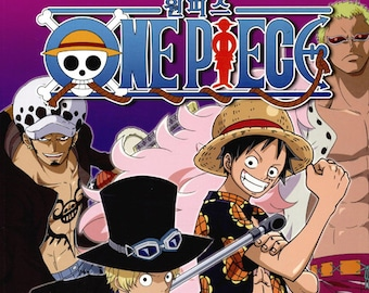 One piece vol.3 Coloring Book for adult Japanese Animation One-piece nurie colouring book by EIICHIRO ODA