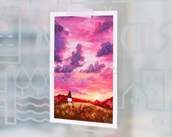 Forest Girls Postcards Set By Aeppol 8 Sheets