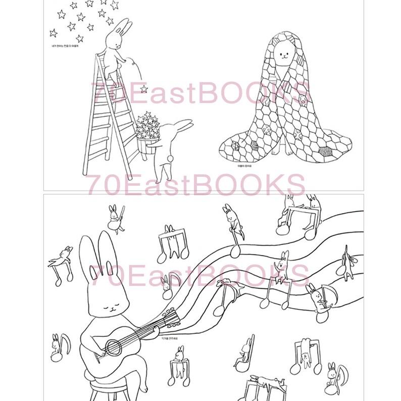 Kleurplaten Voor Volwassenen Konijn.Konijn Benny Kleurplaat Dagboek Coloring Boek Een Goede Dag Etsy