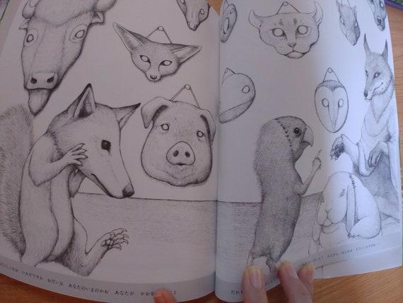 Songs Coloring book of living things by Masayuki Matsuyama, Japanese  coloring book