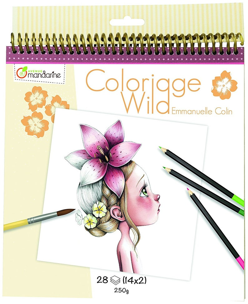 Coloriage Wild Coloring Book By Emmanuelle Colin