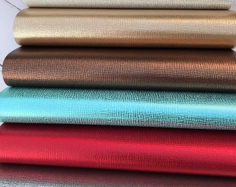 Faux leather sheets. 11 colors. Texture Leather sheet. Craft supplies. Leather supplies. Faux leather. K1053