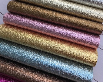 Crackle Texture shiny faux leather sheets. Available in 14 colors. Faux leather craft supplies leather supplies