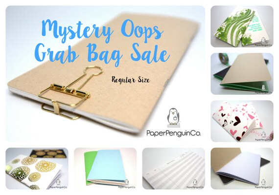 Oops Regular Size 3 Inserts Mystery Oops Grab Bag Sale 3 Midori Inserts Random Oops Up to 75% Off Regular Standard Size