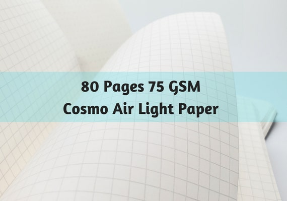 Cosmo Air Light 80 Pages 75 GSM Japanese Paper Travelers Notebook Insert