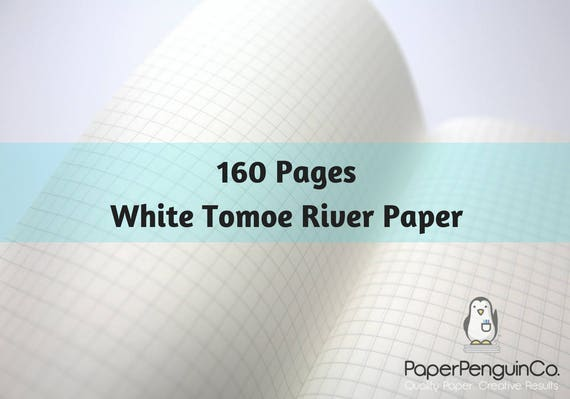 Tomoe River Paper 160 Pages Travelers Notebook Midori Insert Bullet Journal 52 gsm White Traveler's Notebook Midori Notebook