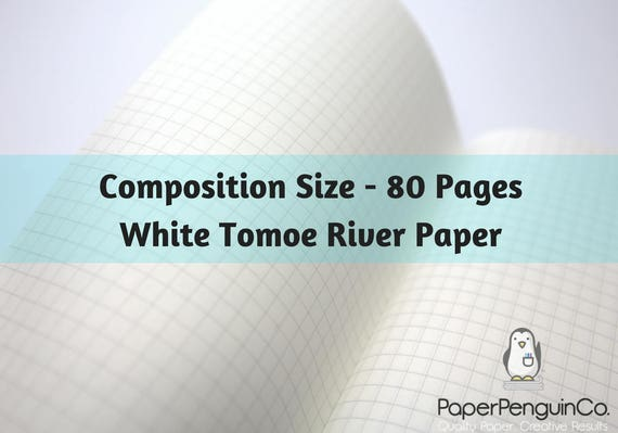 Tomoe River Paper Midori Insert 80 Pages White Tomoe River Paper Travelers Notebook Black Brown Composition Size Only Midori Insert