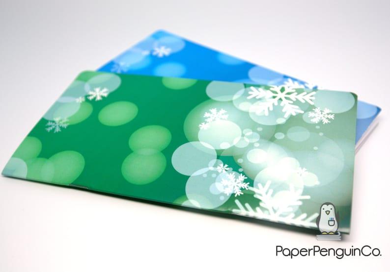 Midori Insert Winter Holiday Bokeh Grid MTN Travelers Notebook Regular Wide A5 B6 Personal A6 Pocket Field Note PassportGrid Dots Lined