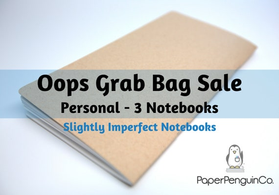 Oops Personal Size 3 Inserts Mystery Oops Grab Bag Sale 3 Midori Inserts Random Oops Up to 75% Off Personal