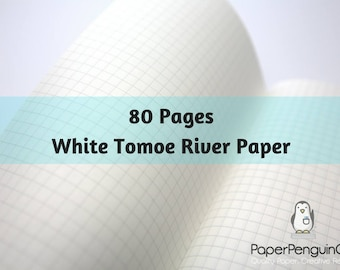 Tomoe River Paper 80 Pages White Tomoe River Travelers Notebook Black Brown Regular A5 Wide B6 Personal A6 Pocket FN Passport Mini Midori