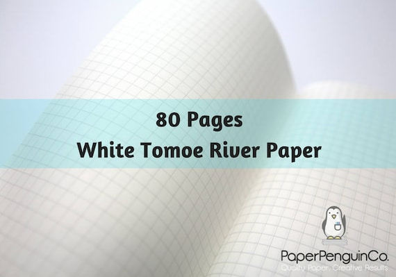 Tomoe River Paper 80 Pages Travelers Notebook Midori Insert Bullet Journal 52 gsm White Traveler's Notebook Midori Notebook