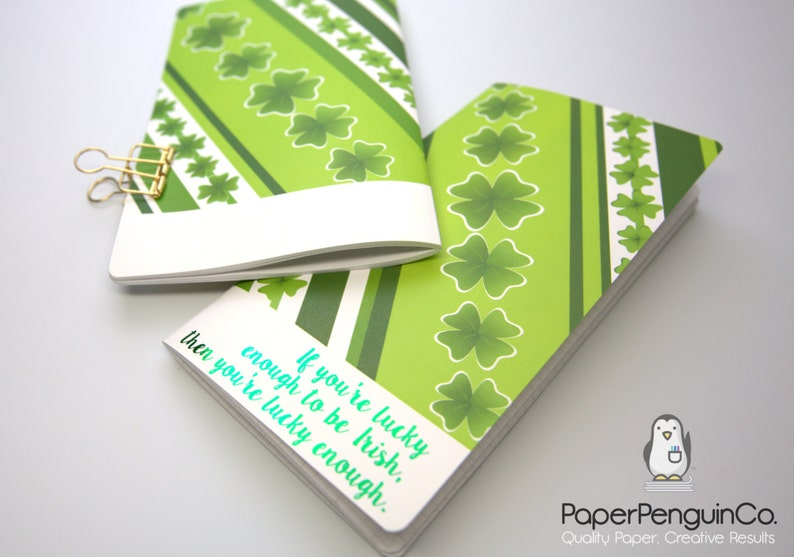 Midori Insert Foil Irish Stripes Travelers Notebook Regular A5 Wide B6 Personal A6 Pocket Field Notes Passport  Grid Dots Lined Blank
