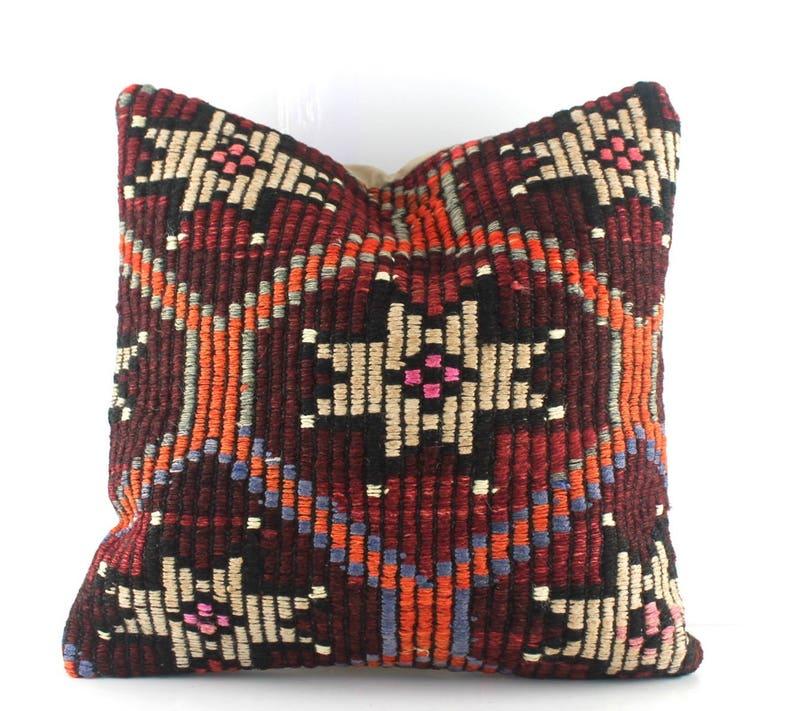 kilim cushion kilim pillows kilim pillow decorative pillows for couch kilim pillow cover kilim pillow 16X16 Turkish pillow